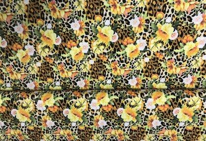 Ziedi ar leoparda motīviem
