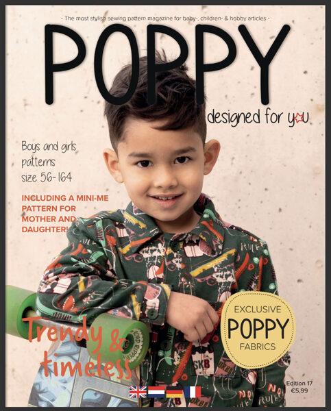 Poppy piegrieztņu žurnāls nr.17