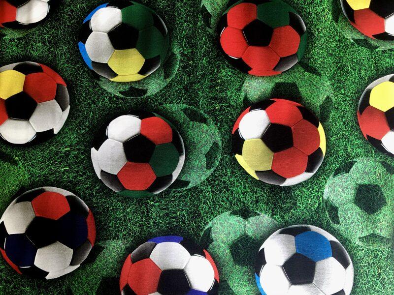 Krāsainās futbolbumbas