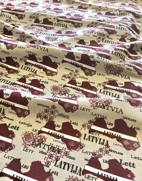 Lins - Latvija - mājas tekstils
