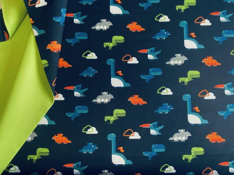 Dinozauri uz tumši zila - Soft shell