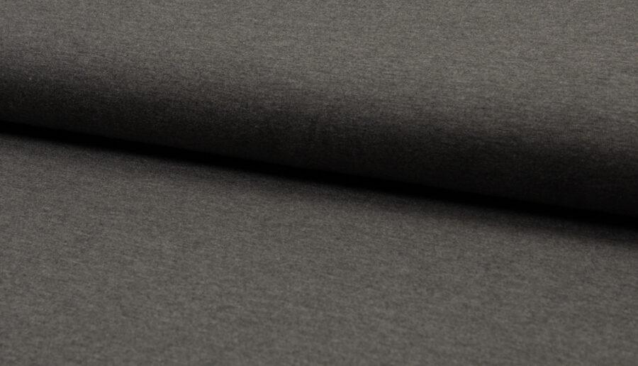 Tumši pelēks melange - bambusa trikotāža