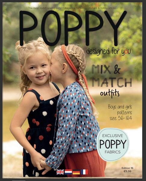 Poppy piegrieztņu žurnāls nr.16