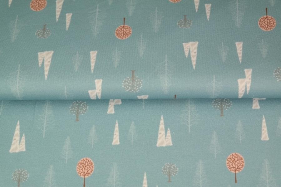 Ziemas meiteņu pieskaņotais pamats zils