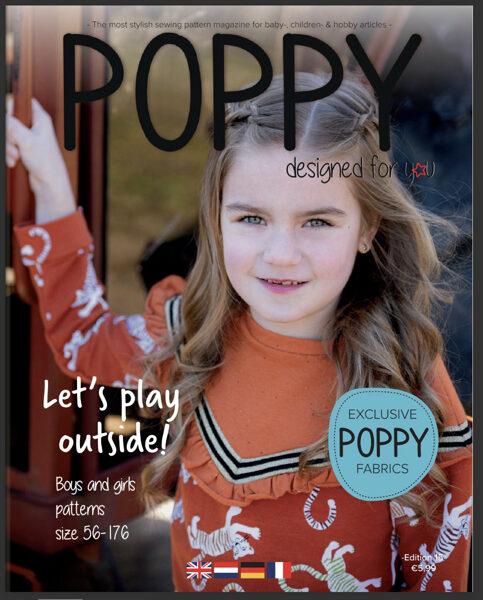 Poppy piegrieztņu žurnāls nr.15