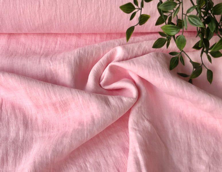 Lins - gaiši rozā