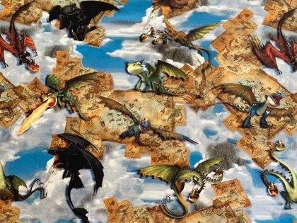 Pūķi gaisā (How to train your dragon)
