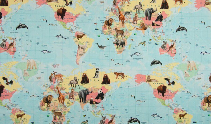 Savvaļas dzīvnieku karte