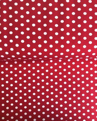 Aveņu sarkans ar lieliem baltiem punktiem ❗️Pēdējie 0,90m pieejami❗️