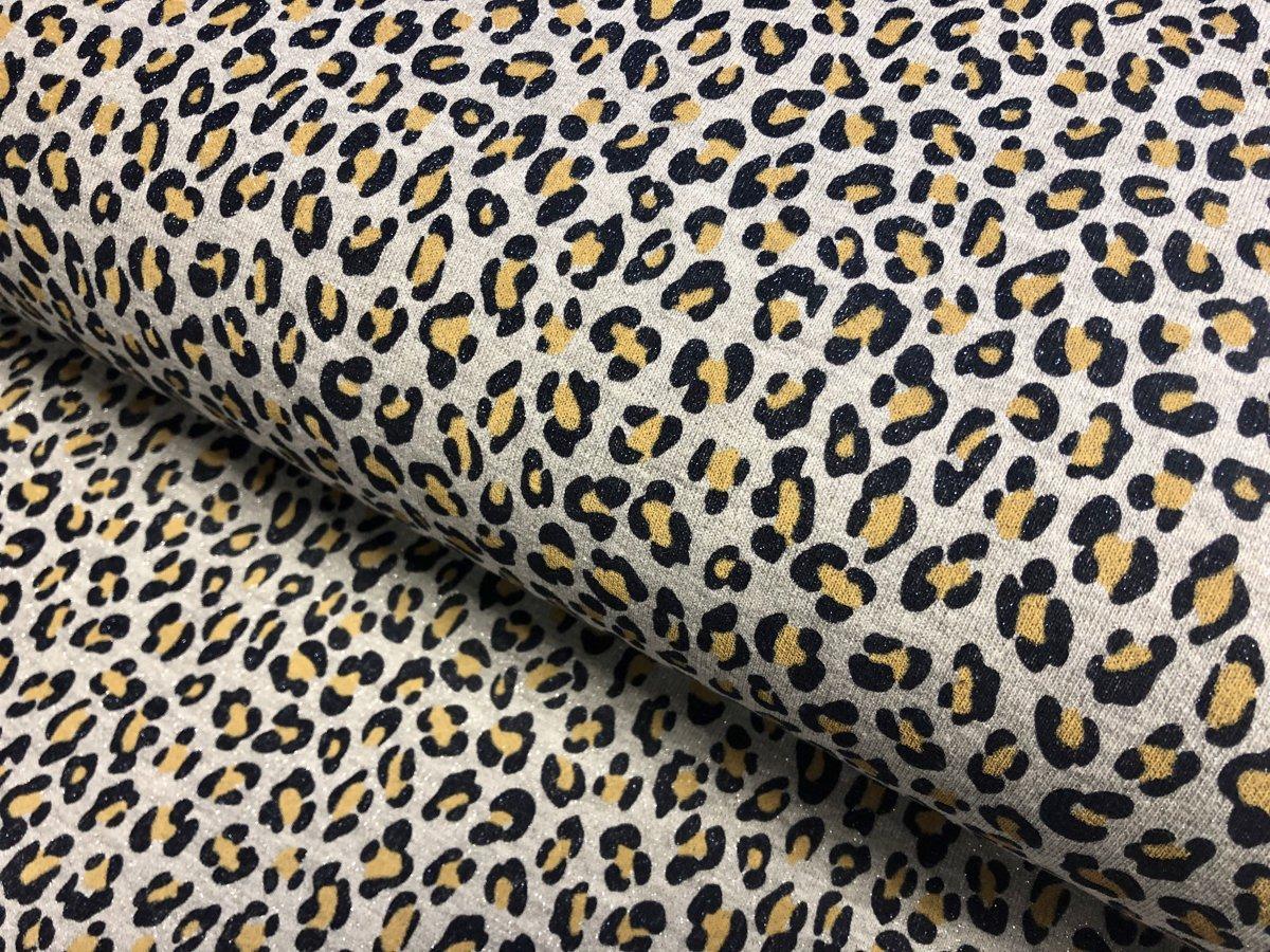 Leoparda spīdīgais glamūrs